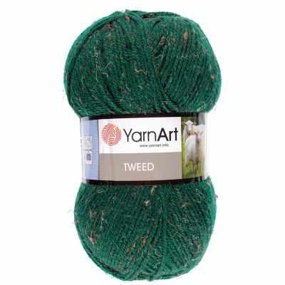 Пряжа YarnArt Пряжа YarnArt TWEED YARNART Цвет.232 Темно зеленый