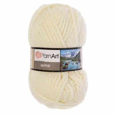 Купить со скидкой Пряжа YarnArt ALPINE Цвет.333 Молочный