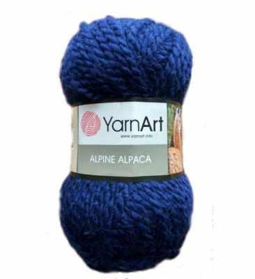 Пряжа YarnArt Пряжа YarnArt ALPINE ALPACA Цвет.437 Синий
