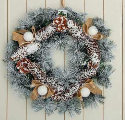 Товары для оформления празников - 3565736 Венок новогодний d- 38 см