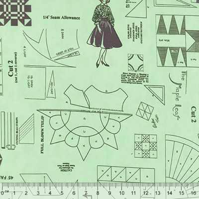 Ткань США Ткани 8835 (60*110 см)