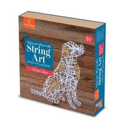 Набор для творчества Fox-in-Box FB606303 Набор для творчества Стринг Арт