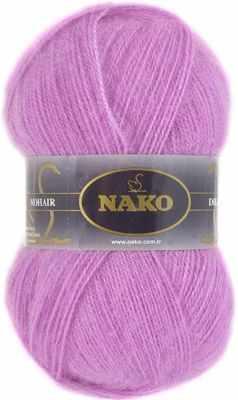 Пряжа Nako Пряжа Nako Mohair delicate Nako Цвет.6113 Розовый