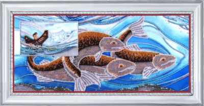 Основа для вышивания с нанесённым рисунком Butterfly СА 583 Стихия воды - схема для вышивания (Butterfly)