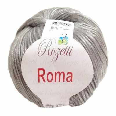 Пряжа Rozetti Пряжа Rozetti Roma Цвет.201-11 Серый