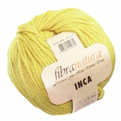 Пряжа Fibra Natura Пряжа Fibra Natura Inca Цвет.43008 солома