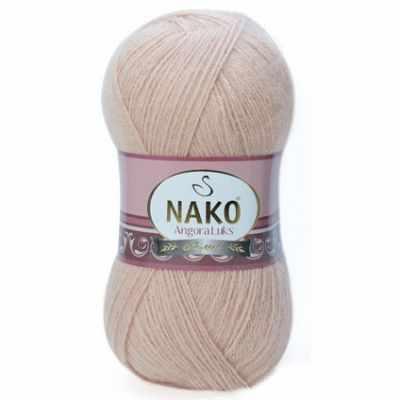 Пряжа Nako Пряжа Nako Angora Luks Цвет.10042 св.телесный