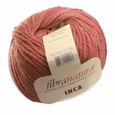 Пряжа Fibra Natura Пряжа Fibra Natura Inca Цвет.43025 сух.роза