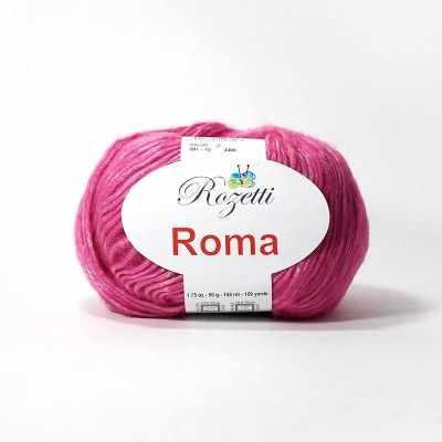 Пряжа Rozetti Пряжа Rozetti Roma Цвет.201-15 фуксия
