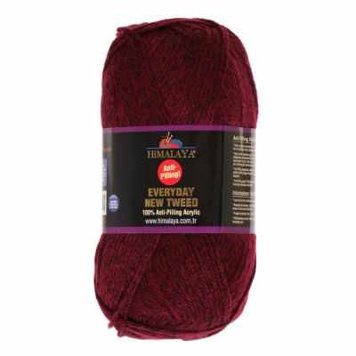 Пряжа Himalaya Пряжа Himalaya Everyday new tweed Цвет.75117 Бордо меланж