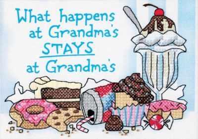 Набор для вышивания Dimensions 65033-DMS Что случается у бабушки