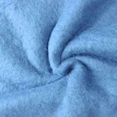 Мех для игрушек и рукоделия Россия Мех хлопох с начесом 471008.1 Цвет.Голубой (50*75 см)