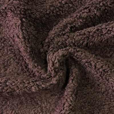 Мех для игрушек и рукоделия Россия Мех хлопох с начесом 471049 Цвет.Коричневый (50*75 см)