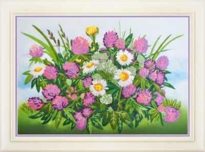 Набор для вышивания Картины бисером R-032 Летнее настроение - набор для вышивания