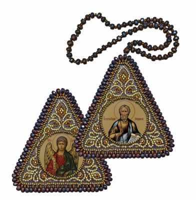 Набор для вышивания иконы Nova Sloboda ВХ1105 Св. Ап. Андрей Первозванный и Ангел Хранитель