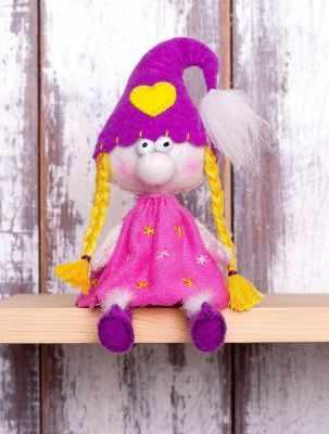 Набор для изготовления игрушки Перловка ПФГ-1555 Гномочка - игрушка (Перловка)