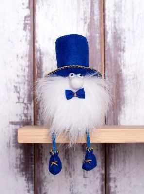 Набор для изготовления игрушки Перловка ПФГ-1553 Гном Джентльмен - игрушка (Перловка)