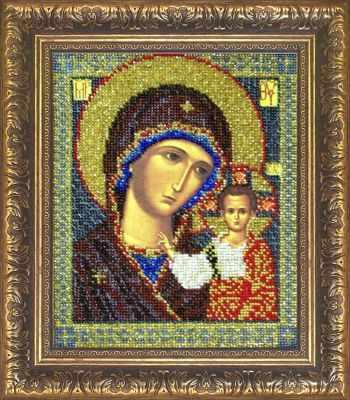 Рама Мир Багета №2 Рамка для иконы Казанская Богородица, 19,6х23 Арт 829-107