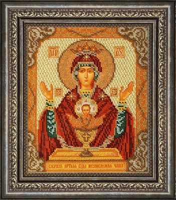 Рама Мир Багета №19 Рамка для иконы Неупиваемая Чаша, 19,8х24 Арт 486-792