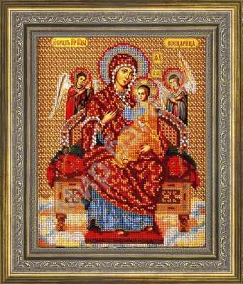 Рама Мир Багета №26 Рамка для иконы Богородица Всецарица, 20,9х26,2 Арт 486-180 рама мир багета 19 рамка для иконы неупиваемая чаша 19 8х24 арт 486 792
