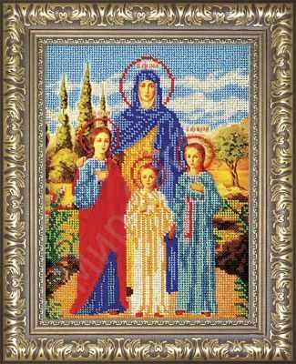 Рама Мир Багета №33 Рамка для иконы Вера,Надежда, Любовь 18,9х25,9 Арт 829-199