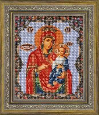 Рама Мир Багета №16 Рамка для иконы Иверская, 19,3х23,7 Арт 486-180