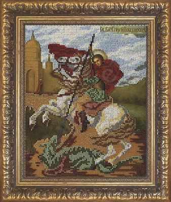Рама Мир Багета №29 Рамка для иконы Георгий Победоносец 20,7х26 Арт 829-107
