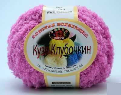 Пряжа Color City Пряжа Color City Кузя Клубочкин Цвет.19 св.Фуксия