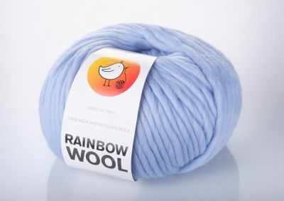 Пряжа RAINBOW BIRD RAINBOW WOOL Цвет.Sky