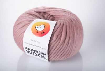 Пряжа RAINBOW BIRD Пряжа RAINBOW BIRD RAINBOW WOOL Цвет.Lipstick