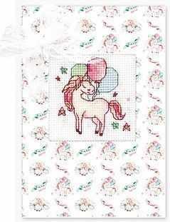 Набор для вышивания Luca-S (S)P-92 Набор для изготовления открытки