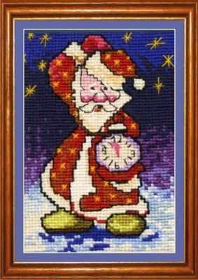 цена на Набор для вышивания Сделай своими руками Д-03 Дед Мороз