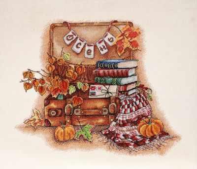 Набор для вышивания Alisena 1268 Осень пришла