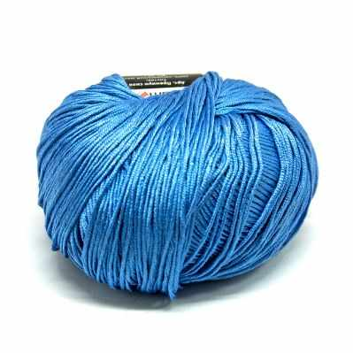 Пряжа Seam Пряжа Seam Premium Silk Цвет.17 небесно-голубой