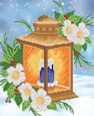 Основа для вышивания с нанесённым рисунком Марiчка РКП-694 Пламя свечи - схема для вышивания (Марiчка)