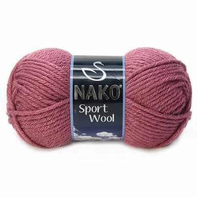Пряжа Nako Пряжа Nako Sport Wool Цвет.327