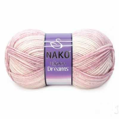 Пряжа Nako Пряжа Nako Nakolen Dreams Цвет.31441