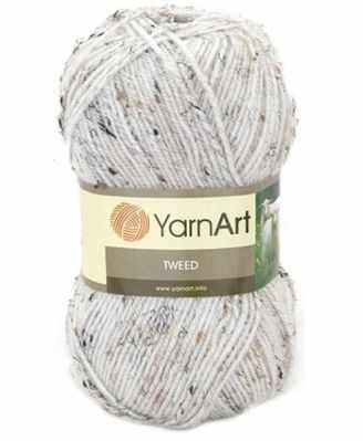 Пряжа YarnArt Пряжа YarnArt TWEED YARNART Цвет.220 Белый