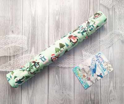 Елочки - ролл для вышивки