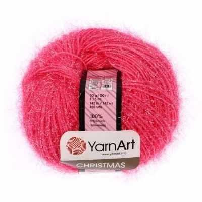 Пряжа YarnArt Пряжа YarnArt Christmas Цвет.009 Розовый