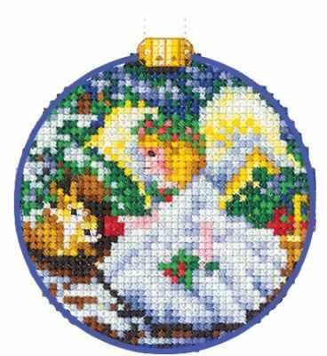 Набор для вышивания Сделай своими руками Н-26 Новогодние шары. Ангел.
