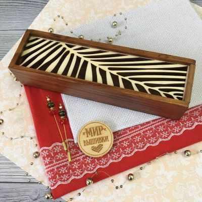 Органайзер Березка Пенал для аксессуаров Пальма аксессуар для рукоделия березка форма для высечки швейная машинка