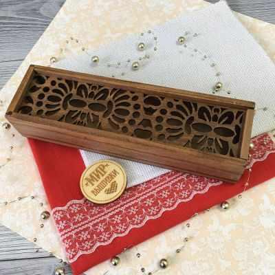 Органайзер Березка Пенал для аксессуаров Бабочка аксессуар для рукоделия березка форма для высечки швейная машинка