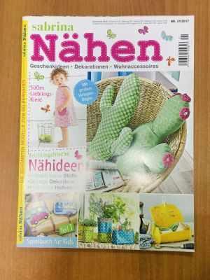 Книга Burda BPV Medien 110096/21 Журнал Sabrina Nahen