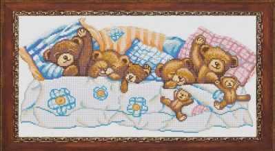 Основа для вышивания с нанесённым рисунком Конёк НИК 1245 Сладкие сны - схема для вышивания (Конёк) основа для вышивания с нанесённым рисунком конёк ник 1245 сладкие сны схема для вышивания конёк