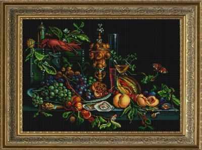 Основа для вышивания с нанесённым рисунком Конёк НИК 1254 Голландский натюрморт - схема для вышивания (Конёк) основа для вышивания с нанесённым рисунком конёк ник 1245 сладкие сны схема для вышивания конёк