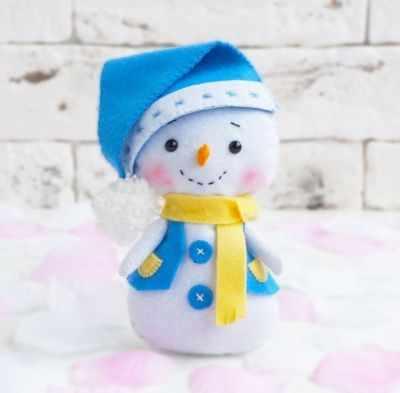 Набор для изготовления игрушки ТУТТИ 05-35 Снеговик