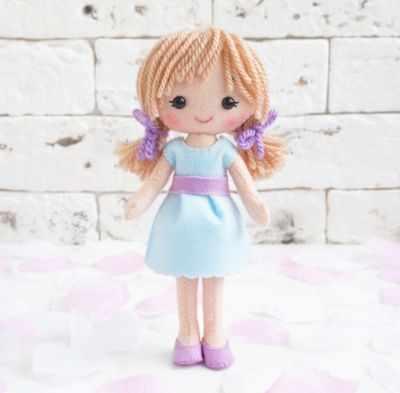 Набор для изготовления игрушки ТУТТИ 05-36 Кукла Катенька