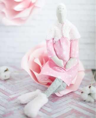 Набор для изготовления игрушки Арт Узор 2278760 Интерьерная кукла «Беременяшка», набор для шитья
