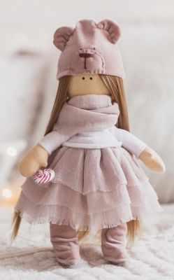 Набор для изготовления игрушки Арт Узор 3299325 Интерьерная кукла «Мика», набор для шитья